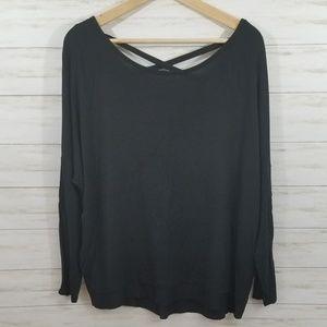 Gaiam Yoga Long Sleeve Shirt sz Small